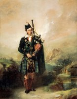 Angus Mackay, 1812 1859. Piper to Queen Victoria, 1843 1853 by Alexander Johnston