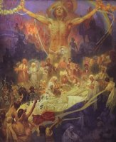 Apotheosis of The Slavs Histor by Alphonse Marie Mucha