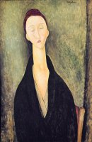 Madame Hanka Zborowska by Amedeo Modigliani