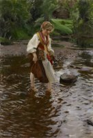 The Girl From Alvdalen by Anders Zorn