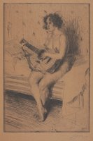 The Guitar Player by Anders Zorn