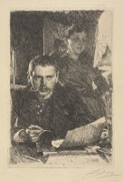 Zorn And His Wife by Anders Zorn