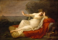 Ariadne Abandoned by Theseus by Angelica Kauffmann