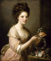Portrait of Eleanor, Countess of Lauderdale by Angelica Kauffmann