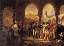 Bonaparte Visiting The Pesthouse in Jaffa, March 11, 1799 by Antoine Jean Gros