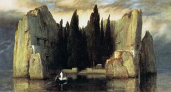 Isle of The Dead Version III by Arnold Bocklin