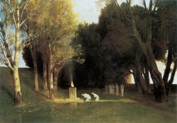 The Sacred Wood by Arnold Bocklin