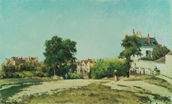 Clearing Of The Old Cemetery In Pontoise by Camille Pissarro