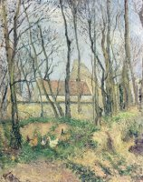 The Path Of The Wretched by Camille Pissarro