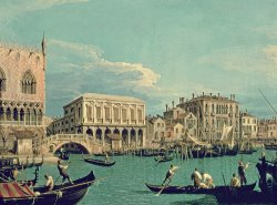 Bridge of Sighs by Canaletto