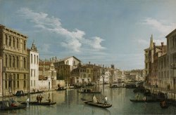Grand Canal From Palazzo Flangini To Palazzo Bembo by Canaletto