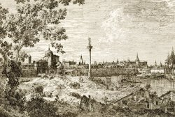 Imaginary View of Padua by Canaletto