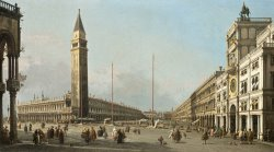 Piazza San Marco Looking South And West by Canaletto