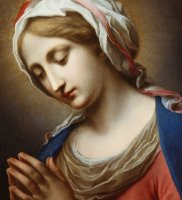 The Virgin Annunciate by Carlo Dolci