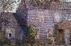 Hutchison House Easthampton Long Island by Childe Hassam