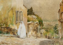 Spring Morning at Montmartre by Childe Hassam