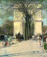 Washington Arch, Spring by Childe Hassam