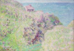 Customs House At Varengeville by Claude Monet