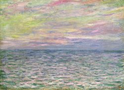 On The High Seas by Claude Monet