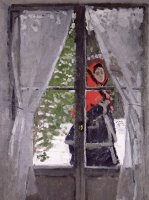 The Red Kerchief by Claude Monet