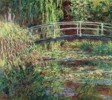 Waterlily Pond Pink Harmony 1900 by Claude Monet
