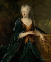 Portrait of Louise Christina Trip, Wife of Gerrit Sichterman by Cornelis Troost