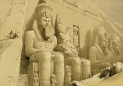 The Great Temple Of Abu Simbel by David Roberts