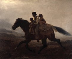 A Ride for Liberty The Fugitive Slaves by Eastman Johnson