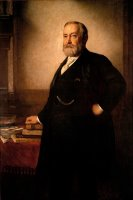 Benjamin Harrison by Eastman Johnson