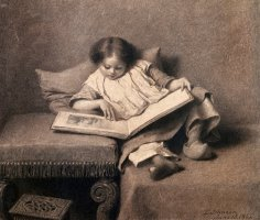 The Picture Book by Eastman Johnson