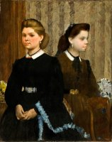 The Bellelli Sisters (giovanna And Giuliana Bellelli) by Edgar Degas
