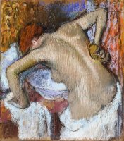 Woman Sponging Her Back by Edgar Degas