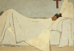 In Bed by Edouard Vuillard