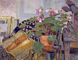 Le Pot De Fleurs (pot of Flowers) by Edouard Vuillard