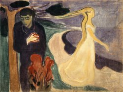 Separation by Edvard Munch
