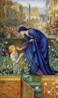 The Prioress's Tale by Edward Burne Jones