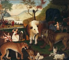 The Peaceable Kingdom 2 by Edward Hicks