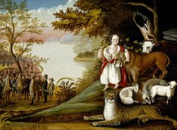 The Peaceable Kingdom by Edward Hicks