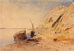 Abu Simbel, 11 11 30 Am, 8 February 1867 (374) by Edward Lear