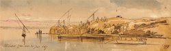 Luxor, 7 30 Am, 20 January 1867 (199) by Edward Lear