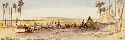 Near Belbeis by Edward Lear