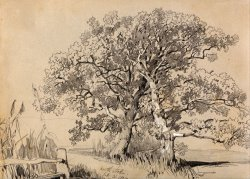 North Stoke. Oct. 21.1834. by Edward Lear