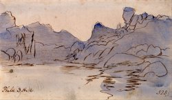 Philae by Edward Lear