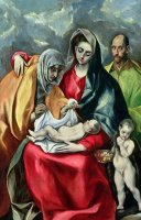 The Holy Family With St Elizabeth by El Greco Domenico Theotocopuli