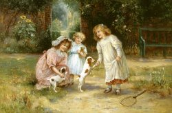 New Playmates by Ernest Walbourn
