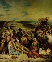 Scenes From The Massacre of Chios by Eugene Delacroix
