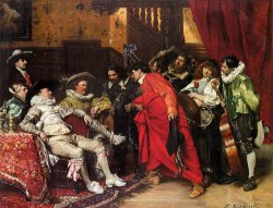 The Troubadours by Ferdinand Roybet