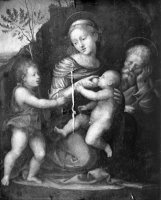 Holy Family with St John by Fra Bartolomeo