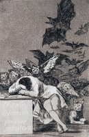 The Dream of Reason Brings Forth Monsters by Francisco De Goya
