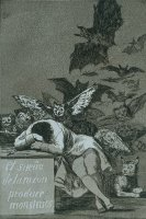 The Sleep of Reason Brings Forth Monsters by Francisco De Goya